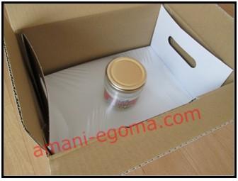 ココナッツオイル梱包画像