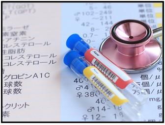 コレステロール値の画像