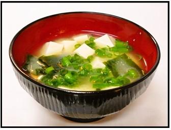 お味噌汁の画像
