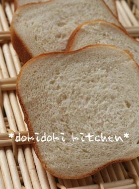 オリーブオイルの食パン画像