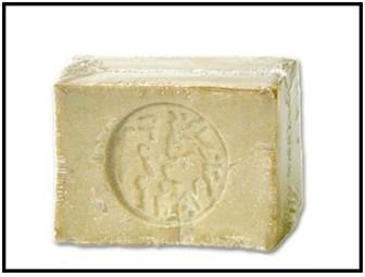アレッポの石鹸の画像